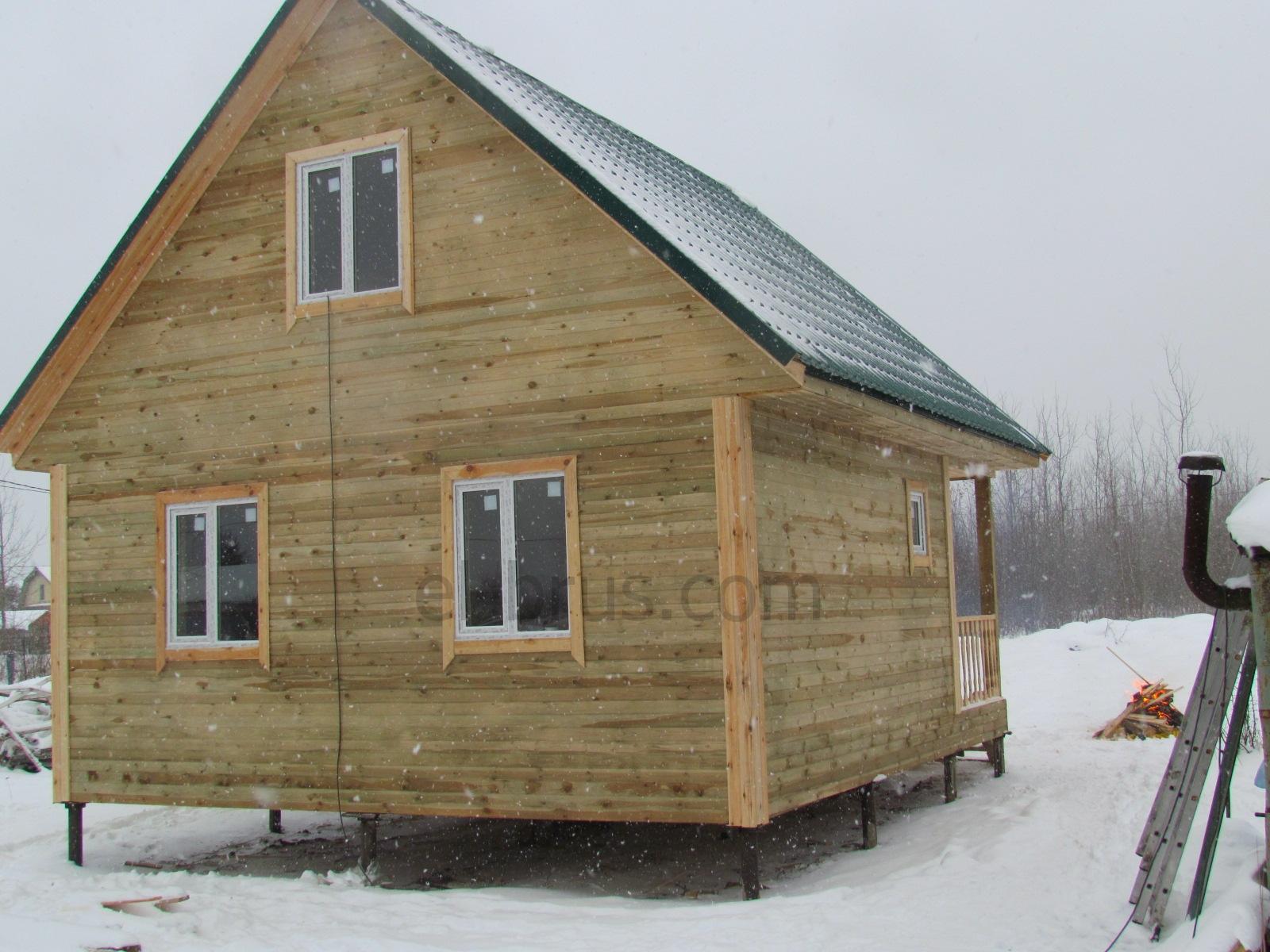Дом каркасный 6х7