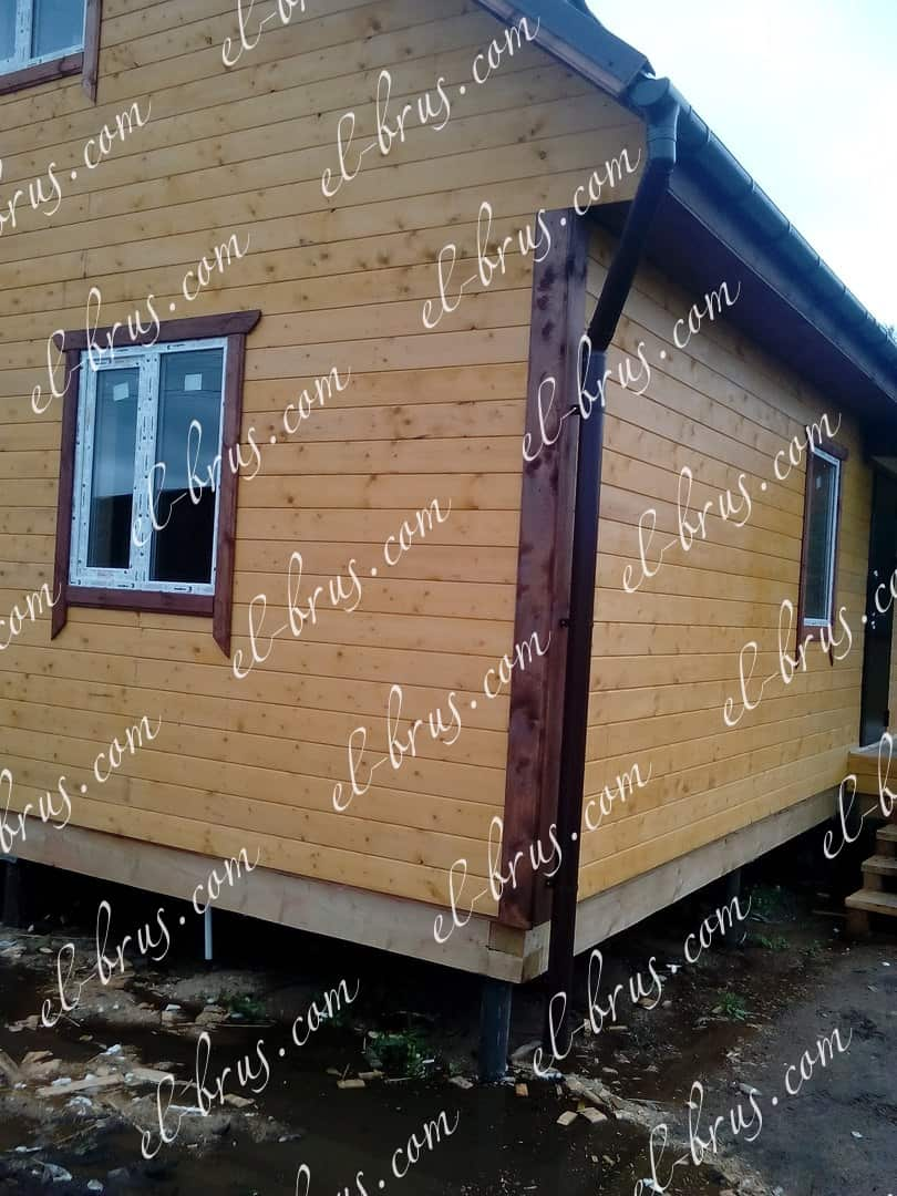 Дом каркасный 8,5х8
