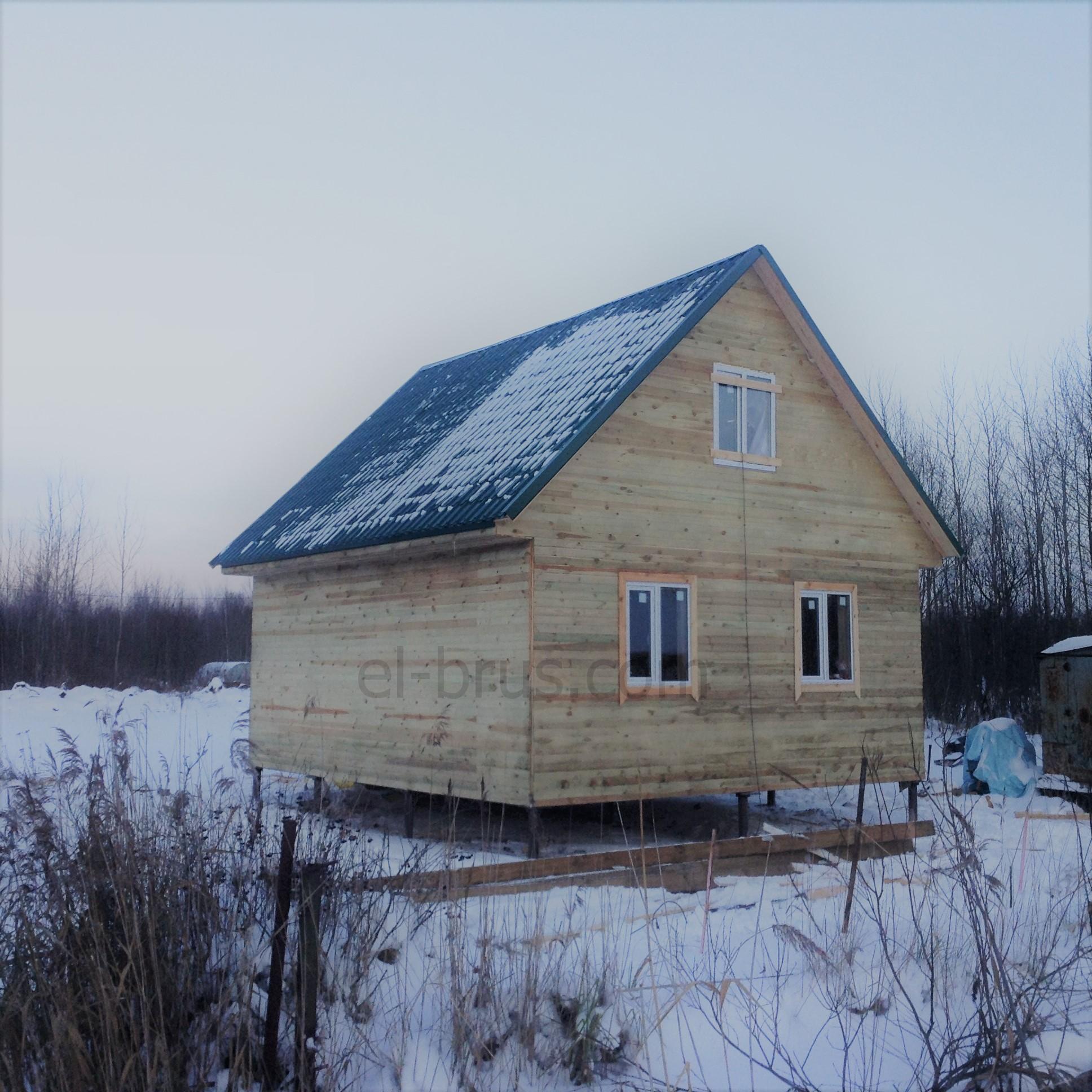 Дом каркасный