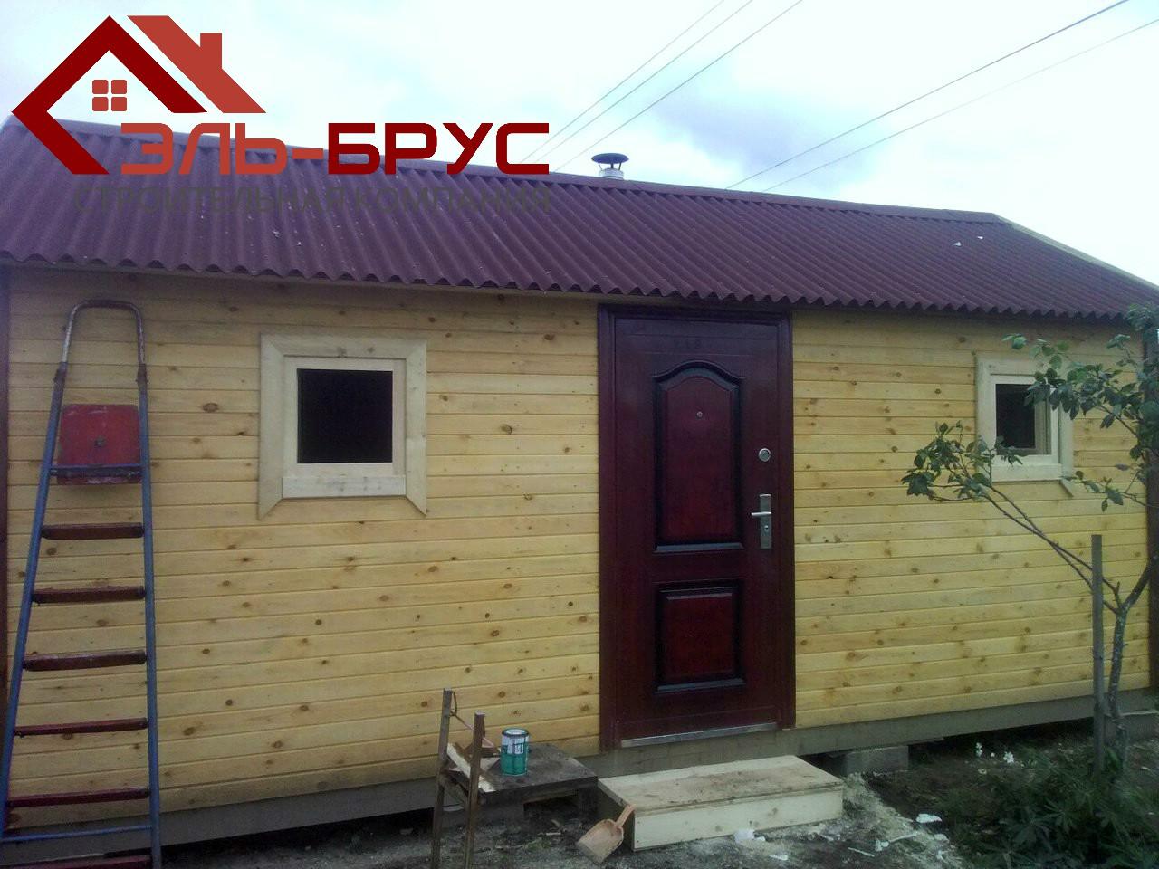 Одноэтажный домик 6х4