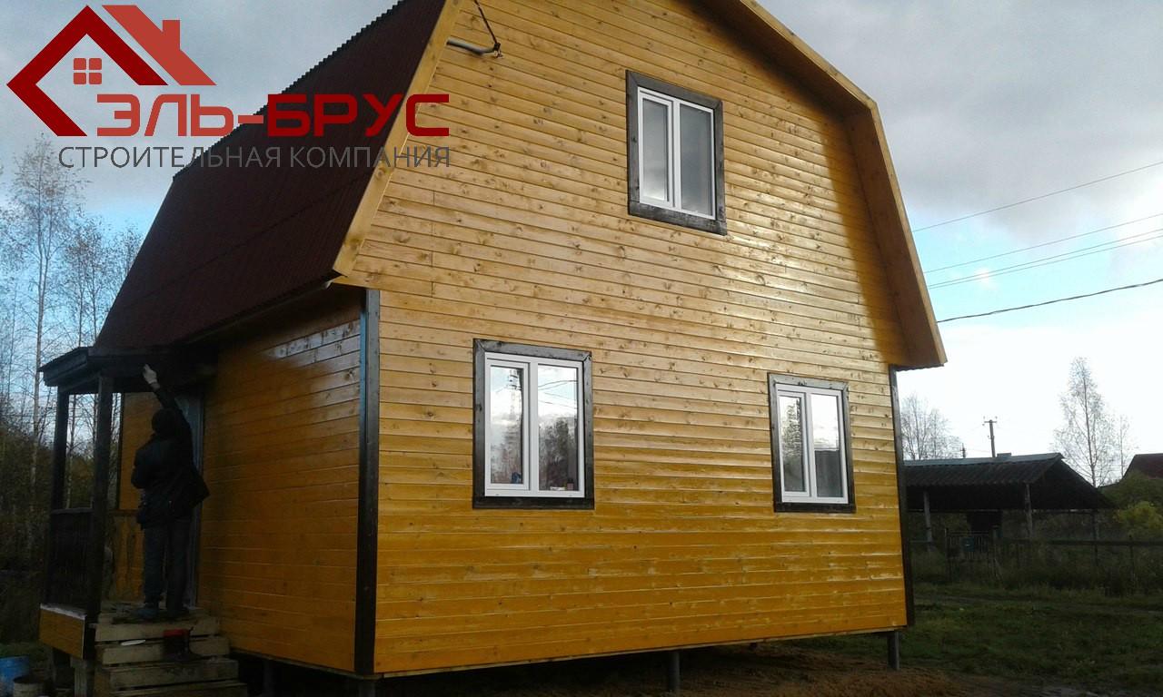 Дом каркасный 6х6