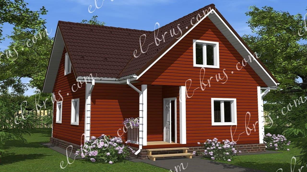 Дом 7.5х8 Боровичи