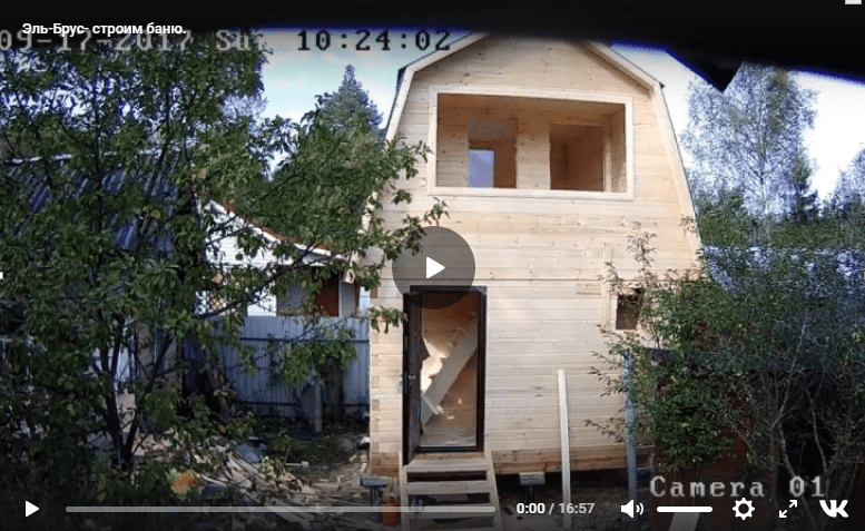 видео-баня
